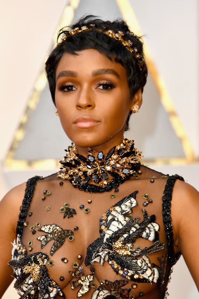 HOLLYWOOD, CA - FEBRUARY 26: Singer/actor Janelle Monae attends the 89th Annual Academy Awards at Hollywood & Highland Center on February 26, 2017 in Hollywood, California. (Photo by Steve Granitz/WireImage)